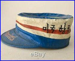 Original USAF Korean War Squadron Ballcap 21st Troop carrier Squadron