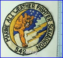 Original USMC VMF(AW) 542 Patch Korean War No Glow