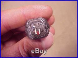 Original Vintage Korean War / Vietnam Sterling Maag China Ring