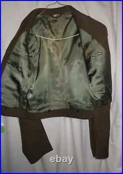 Original WW II US Army Korean War 187th RCT Ike Jacket, Airborne, Paratrooper