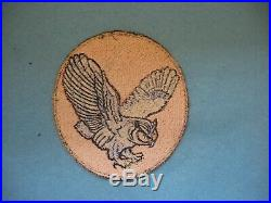 Original used Korean War VC-35 Night Hecklers Squadron Patch, scarce