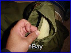 Original vintage Medium fishtail m1951 PARKA with wool LINER / hood Korean War
