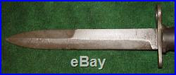 Originaln Korean War M1 Carbine Camillus Bayonet With Rubber Handle Nice