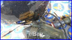 P-1b Flight Helmet & Ms22001 mask Size small Used nice vintage Korean War Era