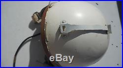 P4-A 1950s flight Helmet MFG Shelby Shoe Co. Size Large Korean War