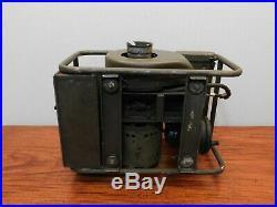 PE-162-C Signal Corp U. S. Army Radio Generator Vintage Military Korean War