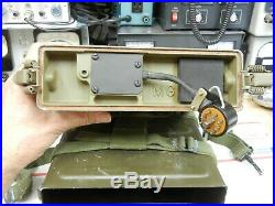 PRC-10 RT-176 38-55 MHz VHF Korean War backpack radio, with accessories! LAST ONE