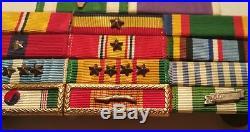 PURPLE HEART vtg us military medal korean war vietnam navy army marines ribbon