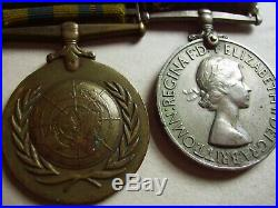 Pair Of Medals For The Korean War (1950 1953) With Original Ribbons