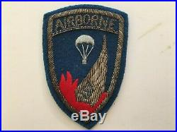 Pk19 Original US Army Korean War 187th Airborne Regimental Combat Team WC10