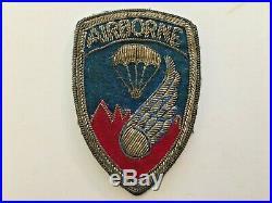 Pk20 Original US Army Korean War 187th Airborne Regimental Combat Team WC10