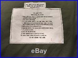 Post Korea Korean War early Vietnam field jacket shell coat M1951 1951 M-51 NOS