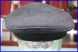 Post WW2 Korean War British Royal Signal Corps Named General's Visor Hat Cap