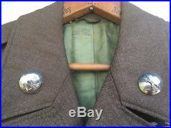 Post WWII Korean War 1st Cavalry Ike Jacket With Bullion CIB