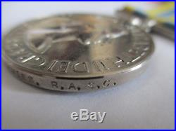 Queen's Korean War/U. N. Korea Medal pair. DAVIES/RASC/Royal Army Service Corps