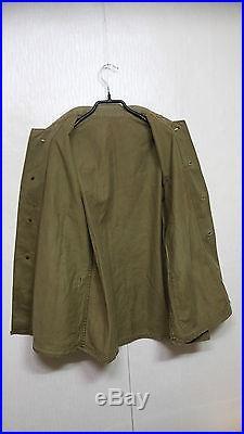 RARE 1940'S WW2 Korean War USMC P-41 HBT Jacket + Pants Trousers US Military