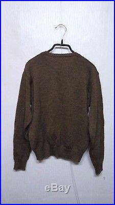 RARE 1940S WW2 Korean War US Army V Neck Sweater Jacket Military Clothes Uniform