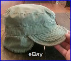 RARE! 1950'S Vintage KOREAN WAR US ARMY USMC 1951 CAP FIELD OD Military HAT