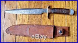 RARE 1950's RANDALL MADE MODEL 1-8 KOREAN WAR ERA ORLANDO, FLA FIGHTING KNIFE