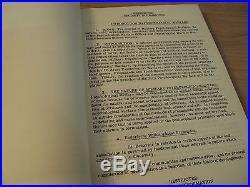 RARE 1952 Korean WarPSYCHOLOGICAL WARFARE OPERATIONSFort BraggAMAZING