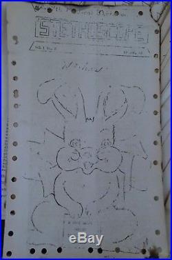 RARE 54 Magazine Newsletter Archive Korean War 1946 -7th Medical Battalion ART