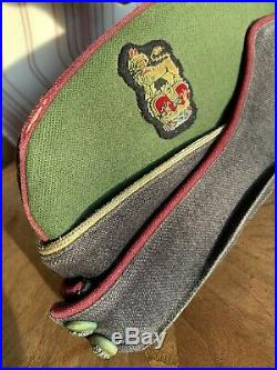 RARE Korean War 1950s era Royal Army Dental Corps General's Side Cap