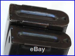 RARE Korean War USGI M1 Carbine T4 magazine pouch & 2 SEY Seymour 10-rd clips