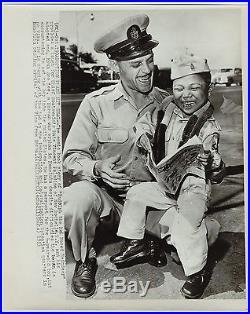 RARE Photo LOT of 5 Korean War Orphans 1953 Associated Press Photos