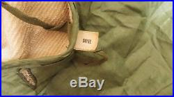 RARE Vintage Korean War US Army M-1950 Field Jacket Wool Liner Military Clothes