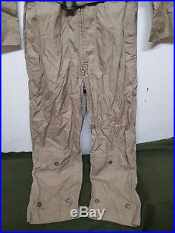 RARE Vintage WW2 Korean War USAF Summer Flying Suit COVERALL Military Clothes