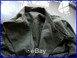 RARE WW2 Korean War US ARMY HBT 1st Pattern Combat Jacket