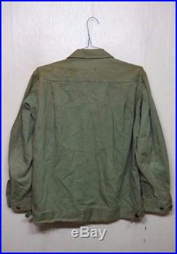 RARE WW2 Korean War US ARMY HBT 1st Pattern Combat Jacket US Military Clothes