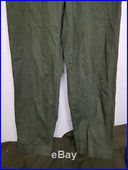 RARE WW2 Korean War Vintage US Navy P-41 HBT Pants Trousers Military Clothes