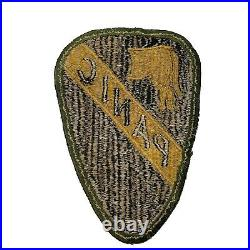 RARE WW2 WWII Korean War Original 1st Cavalry Division PANIC Patch