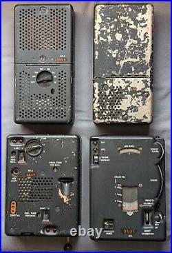 RS-6 CIA Spy Radio CW Set RR-6 RT-6 RP-6 RA-6 1950's Korean War Era Portable