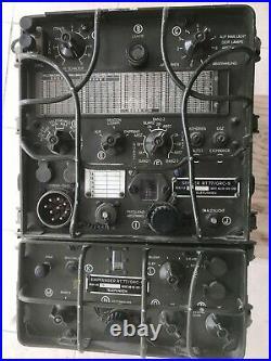 RT-77/GRC-9 KOREAN WAR RADIO SET with 230V P. S