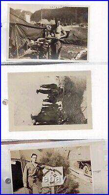 Rare 1950-1952 Korea Korean War Photographs Unique Collection Unpublished Gift