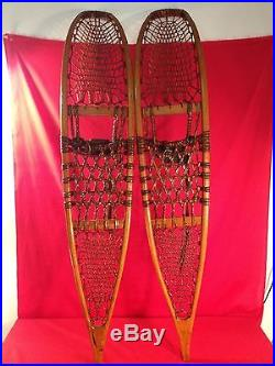 Rare Korean War 1953 Snowshoes By Snocraft Inc. Issued To The Mountain Division