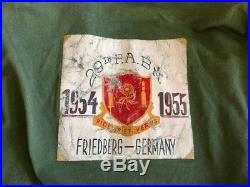 Rare Korean War Era 29th Field Artillery Bn Painted Jacket Us Army Germany Art