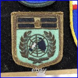 Rare Korean War Grouping 3rd Div GEF Greek Hellenic expeditonary Forces