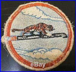 Rare Korean War USAF Patch 380th BOMBARDMENT SQ. Smokey Hill AFB, Kansas + PIN