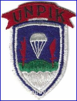 Rare Korean War United Nations Partisan Infantry Korea UNPIK Patch