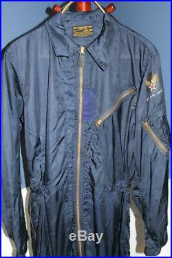 Rare Original Early Korean War U. S. Air Force Suit, Flying, Very Light, Large