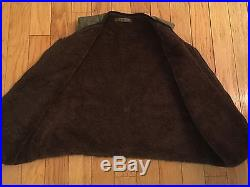 Rare Original Ww2 Korean War Usaf Alpaca Vest Conmar Army Military