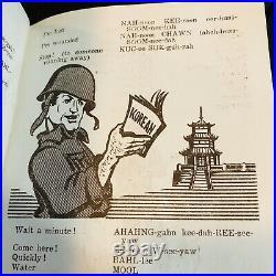 Rare Soldiers Booklet Manual Fight For America Korea Far East Command Korean War