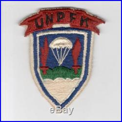 Rare UNPFK Korean War United Nations Partisan Forces Korea Patch Inv# F631