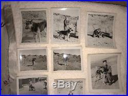 Rare USAF Korean War 18th Air Police K-9 War Dog Grouping Flag Theater Made