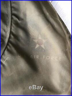 Rare Vintage USAF N-3 Parka, Korean War Era, Good Condition, Size Large