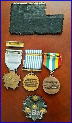 Rear Group Republic of South Korea Korean War Chungmu Order of Military Merit
