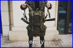 Reproduction WW2 Korean War Vietnam US M1945 BACKPACK SET COMBAT PISTOL BELT